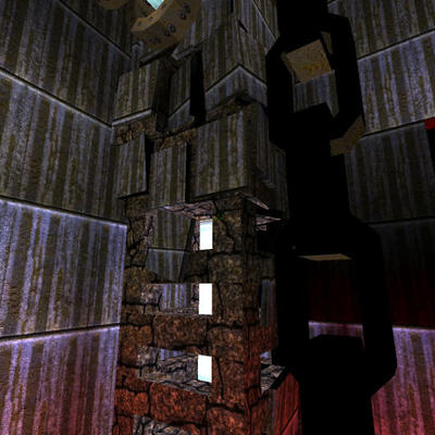 Quake 1 Mapping Screenshot