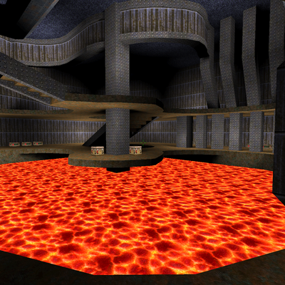 Quake Map Screenshot
