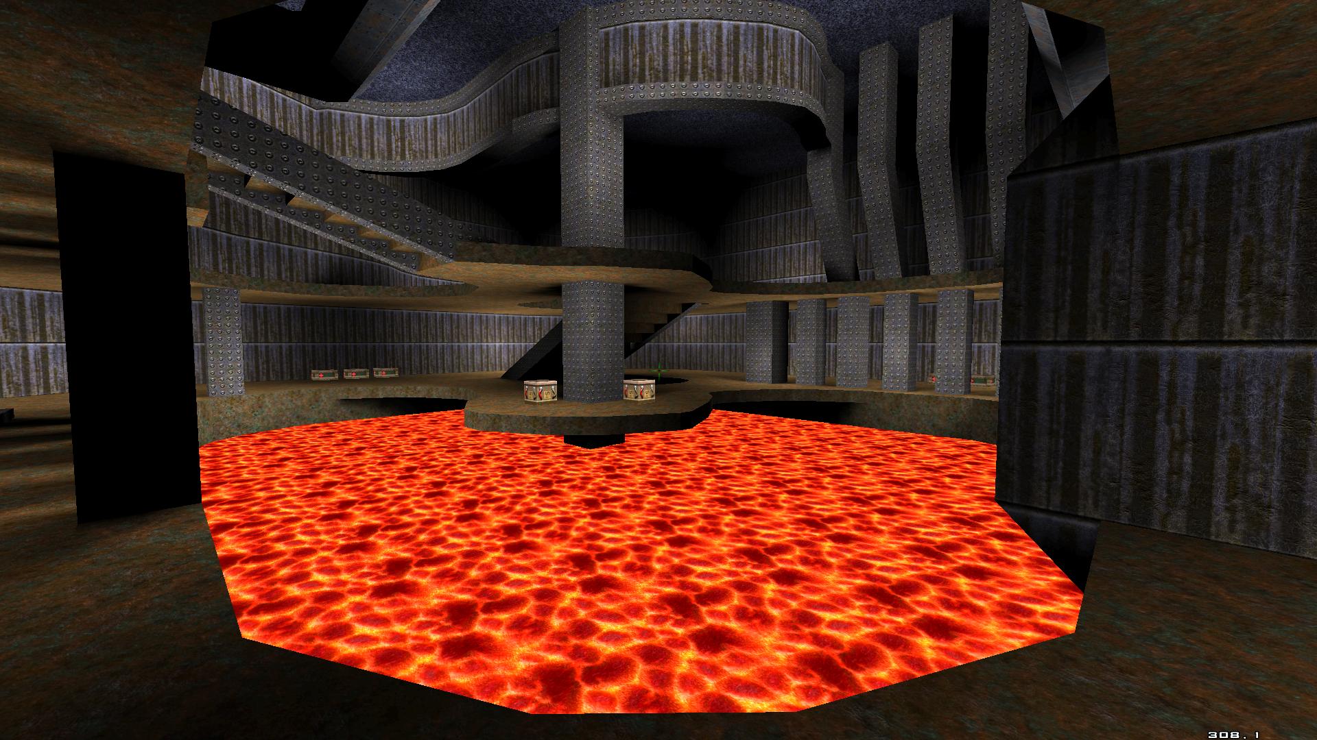 Quake 1 Map: Hell Deathmatch Palace