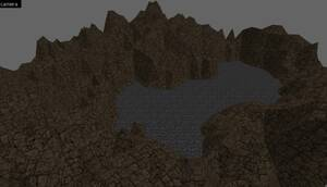 Textured terrain image